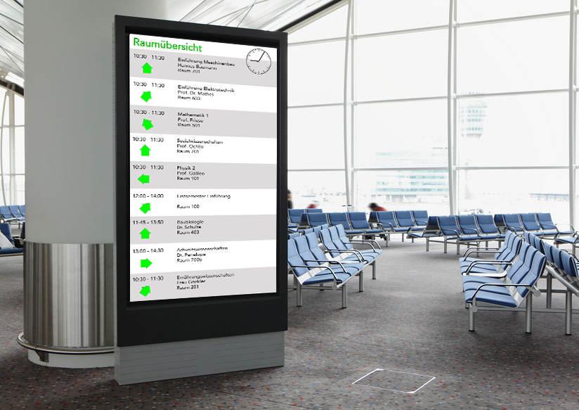 Infobildschirm
